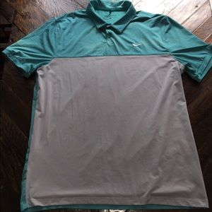 Nike golf shirt men's Large